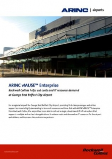 ARINC Airports vMUSE Enterprise at Belfast City Airport Case Study