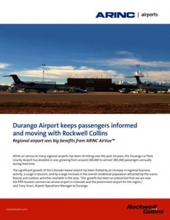 ARINC Airports AirVue at Durango Airport Case Study
