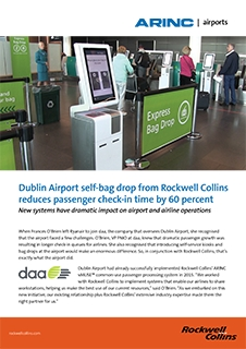 ARINC Airports Self BagDrop at Dublin International Case Study